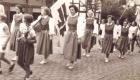 1953 Turnfest Bigge Tine Luttermann, Renate Hüttemann, Erika Hüttemann, Agnes Dörr, Anni Hannig