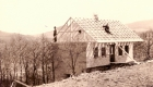 1953_1954 Bau des Vereinshauses auf dem Rechenberg