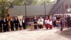 1984 Einweihung Sportplatz Rechenberg Bild 1