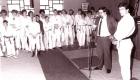 1984 Stadtmeisterschaft Besuch Olympiasieger Frank Wieneke Bild2